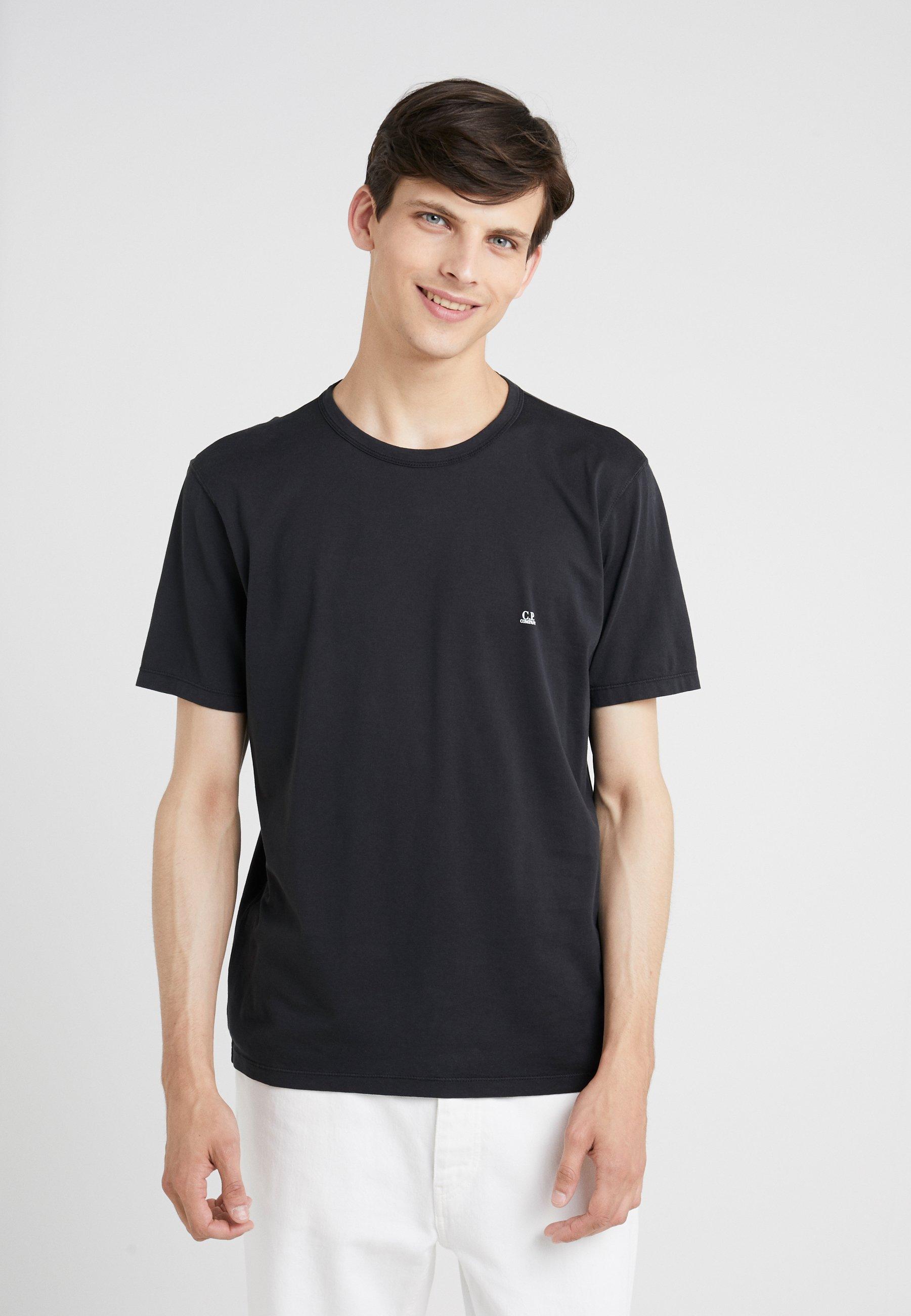 SleeveT C shirt Basique Short pCompany Black Small Logo deCxWrBo