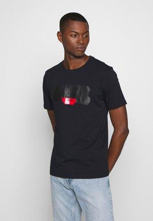 LOGO T-SHIRT - T-shirt print - navy