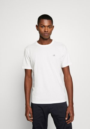 SMALL LOGO - Jednoduché triko - white