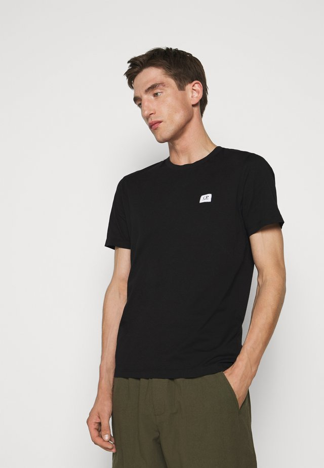 SHORT SLEEVE - T-shirt - bas - black