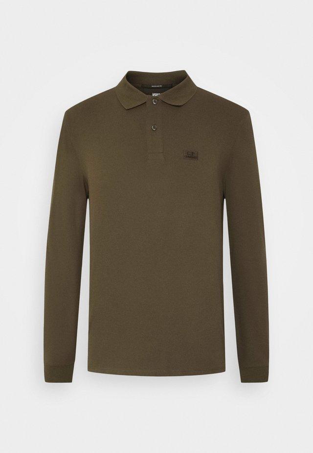 LONG SLEEVE - Poloskjorter - ivy green