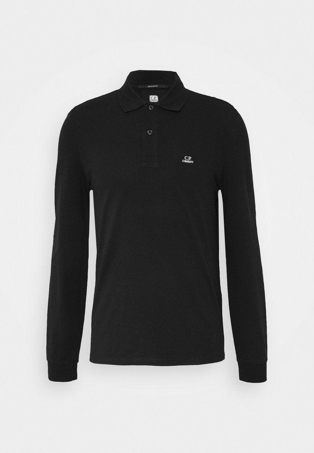 LONG SLEEVE - Poloskjorter - black