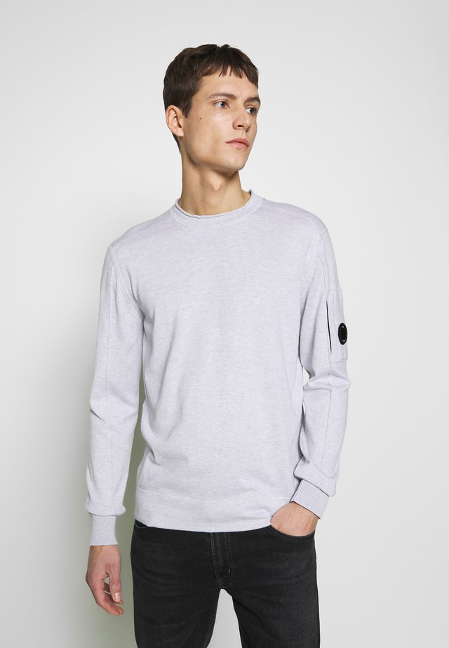 CREW NECK - Maglione - light grey