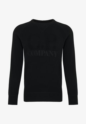 CREW NECK - Jumper - black