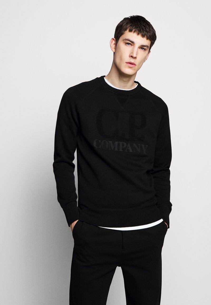 C.P. Company - CREW NECK - Jumper - black