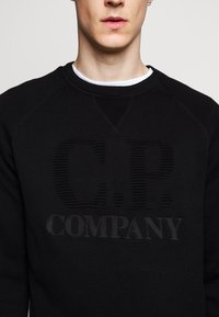 C.P. Company - CREW NECK - Jumper - black - 5