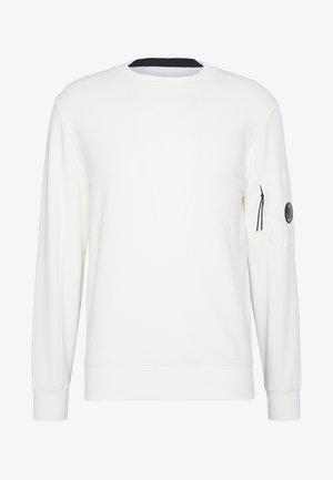 CREW NECK DIAGONAL - Felpa - white