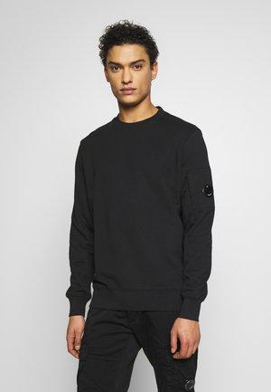 CREW NECK DIAGONAL - Sweatshirt - black