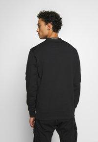 C.P. Company - CREW NECK DIAGONAL - Sweatshirt - black - 2