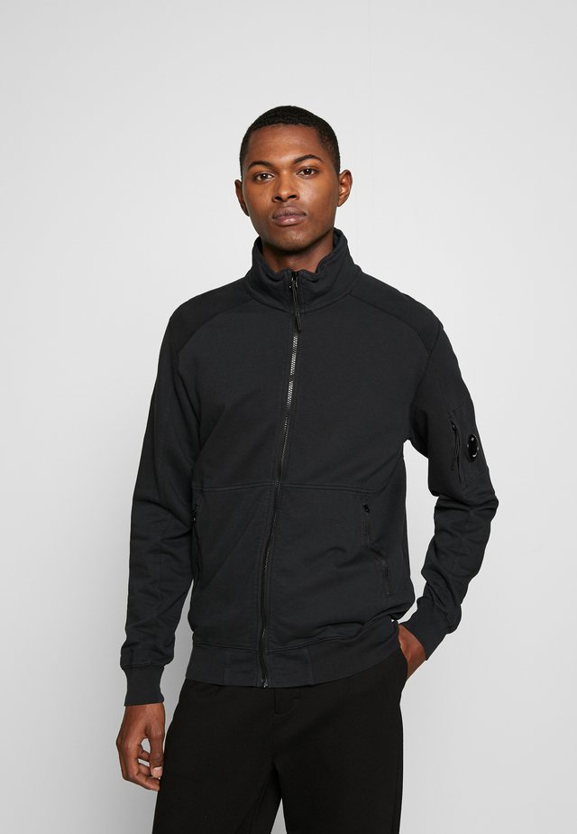 ZIP  - Felpa aperta - black