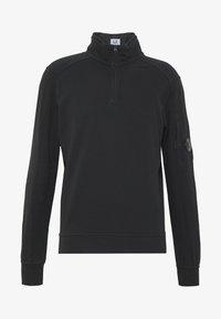 C.P. Company - POLO COLLAR - Sweatshirt - black - 5