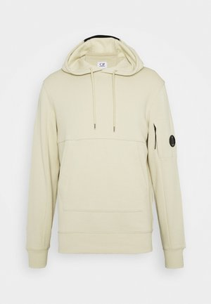 HOODED - Sweat à capuche - oyster grey