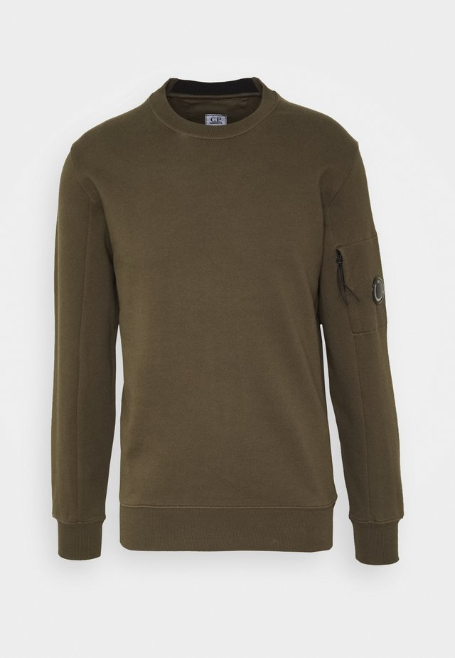 CREW NECK - Sweatshirt - ivy green