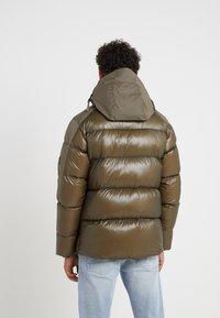 C.P. Company - MEDIUM JACKET SHELL - Down jacket - dark olive - 2