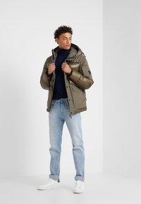 C.P. Company - MEDIUM JACKET SHELL - Down jacket - dark olive - 1