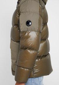 C.P. Company - MEDIUM JACKET SHELL - Down jacket - dark olive - 5