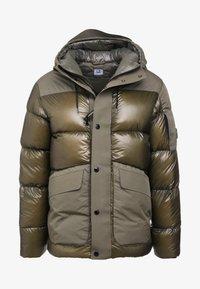 C.P. Company - MEDIUM JACKET SHELL - Down jacket - dark olive - 4