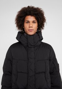 C.P. Company - LONG PUFFER - Down jacket - black - 3