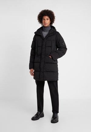 LONG PUFFER - Down jacket - black