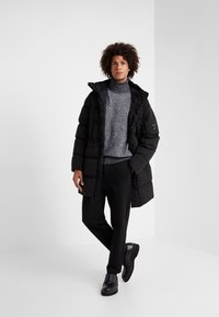 C.P. Company - LONG PUFFER - Down jacket - black - 1