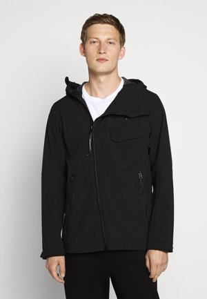 JACKET SHELL - Summer jacket - black