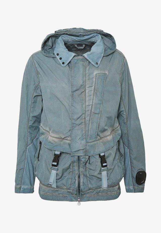 MEDIUM JACKET DYED - Summer jacket - navy