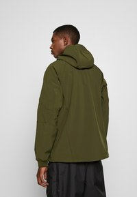 C.P. Company - MEDIUM JACKET HALF ZIP - Windbreaker - forest night - 2