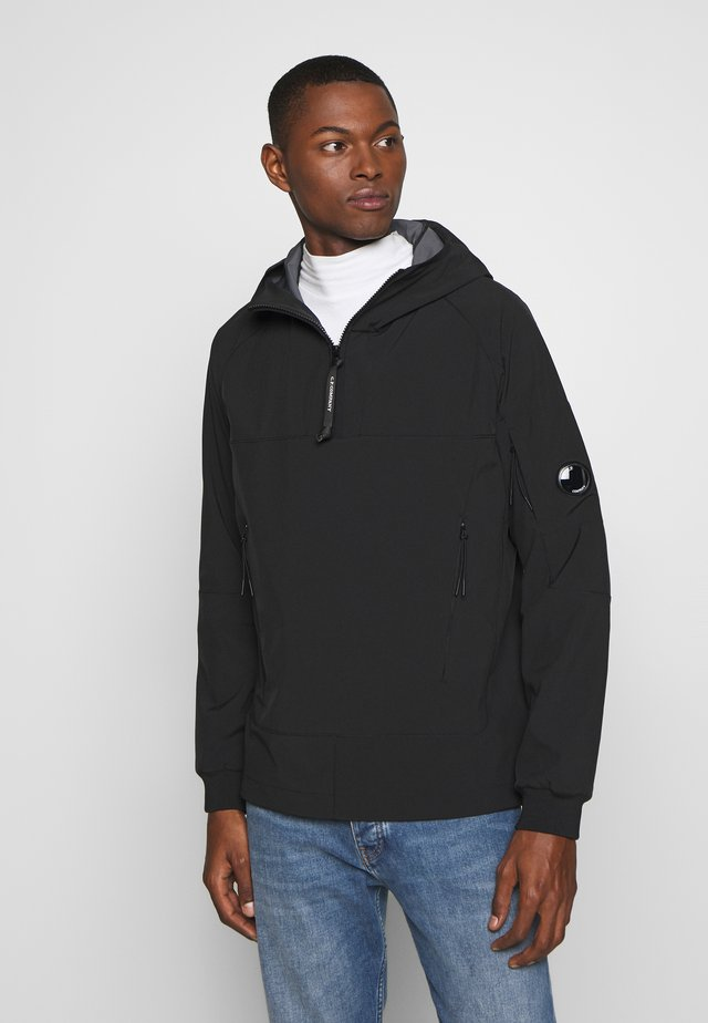 MEDIUM JACKET HALF ZIP - Větrovka - black