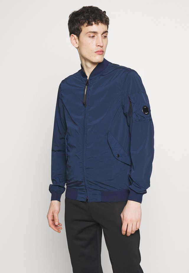 SHORT JACKET - Giubbotto Bomber - total eclipse