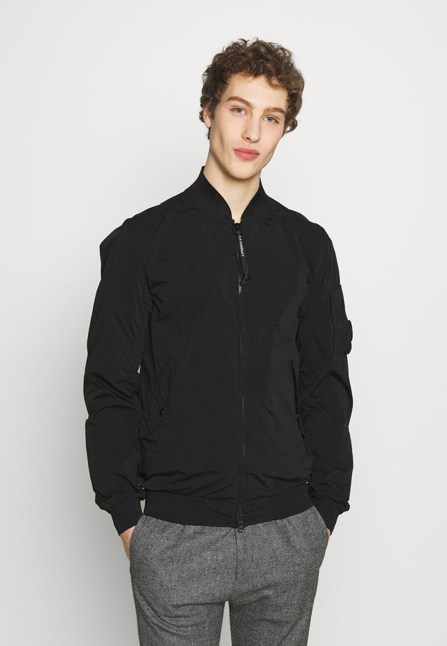 SHORT JACKET - Giubbotto Bomber - black