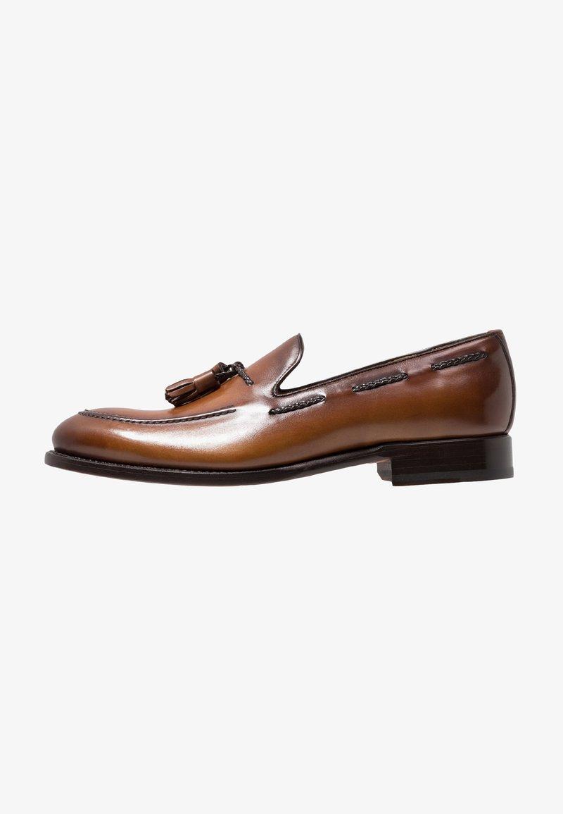 Cordwainer - Elegantní nazouvací boty - turin castagna/turin espresso