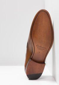 Cordwainer - Elegantní nazouvací boty - turin castagna/turin espresso - 4
