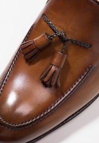 Cordwainer - Elegantní nazouvací boty - turin castagna/turin espresso - 5