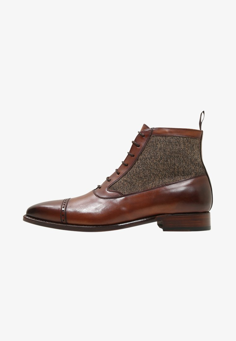 Cordwainer - BALZAC MEAL - Lace-up ankle boots - elba castagna/york
