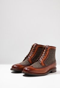Cordwainer - Lace-up ankle boots - turin bronze/larvik - 2