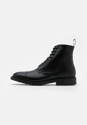 DAVID - Lace-up ankle boots - orleans black