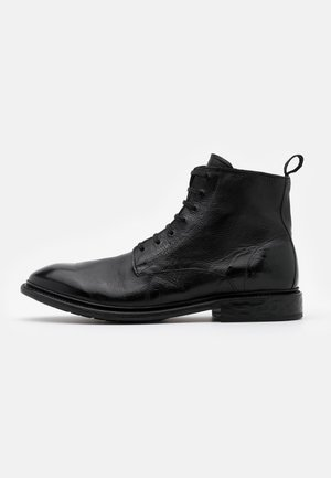 Lace-up ankle boots - todi black