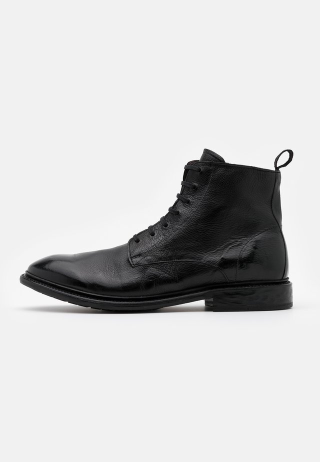 Bottines à lacets - todi black