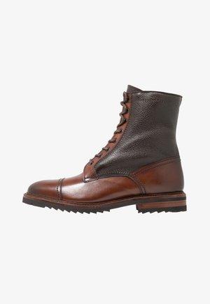 CHRIS - Lace-up ankle boots - elba castagna