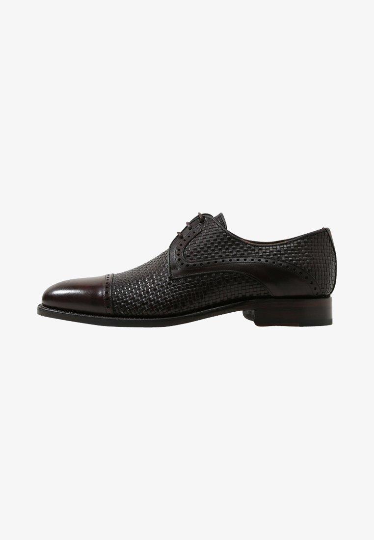 Cordwainer - BAILDON  - Smart lace-ups - elba choco-dama