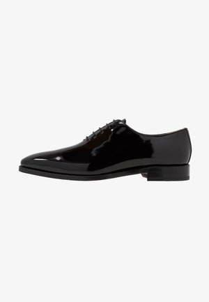 ARMAND - Smart lace-ups - charol black