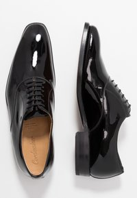Cordwainer - NIAGARA - Elegantní šněrovací boty - charol black - 1
