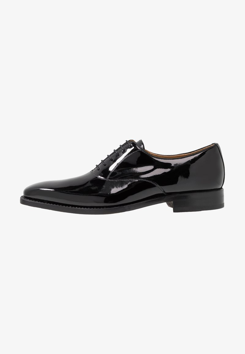 Cordwainer - NIAGARA - Elegantní šněrovací boty - charol black