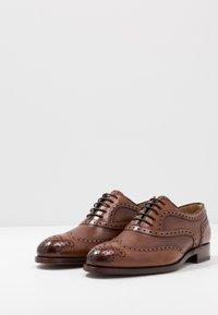 Cordwainer - HUTYON - Elegantní šněrovací boty - capri noce/noce miel - 2