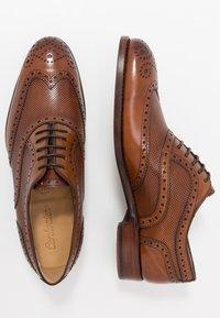 Cordwainer - HUTYON - Elegantní šněrovací boty - capri noce/noce miel - 1