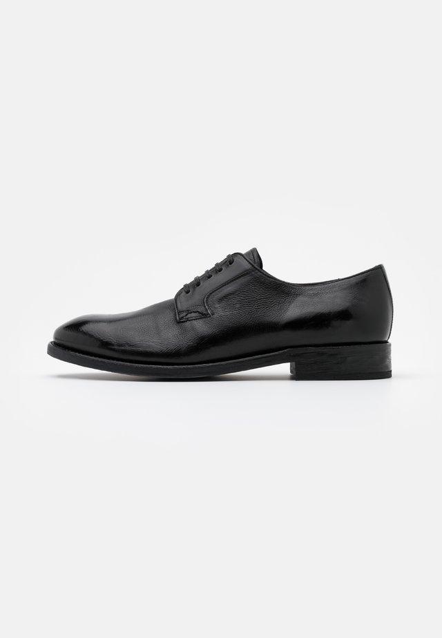 Smart lace-ups - todi black