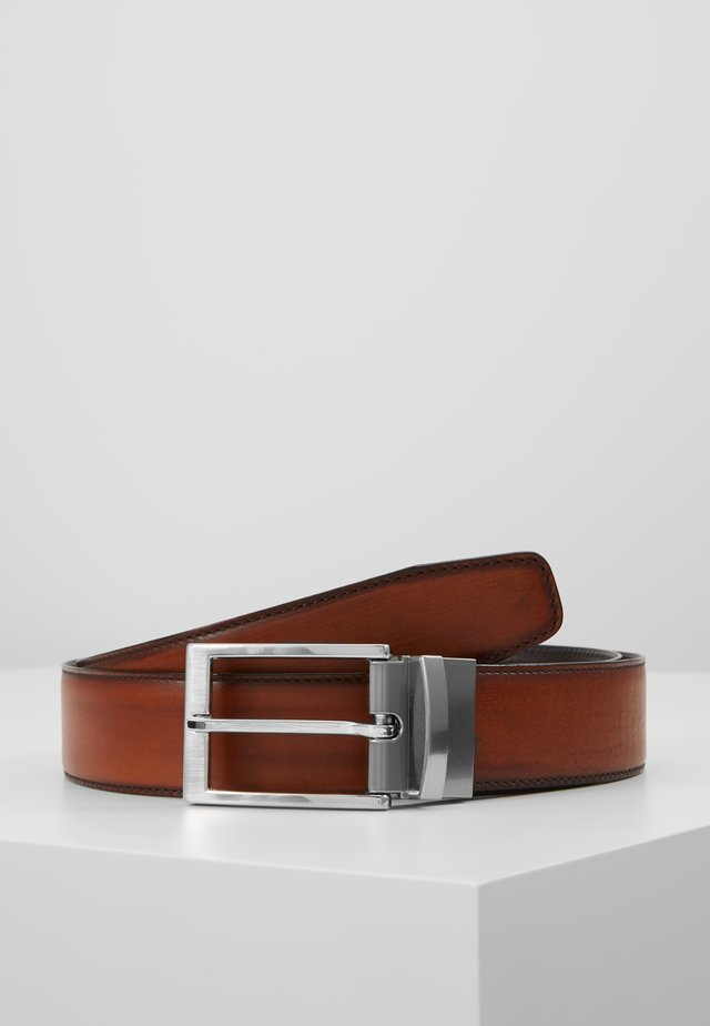 Belt - elba gold-coloured/espresso