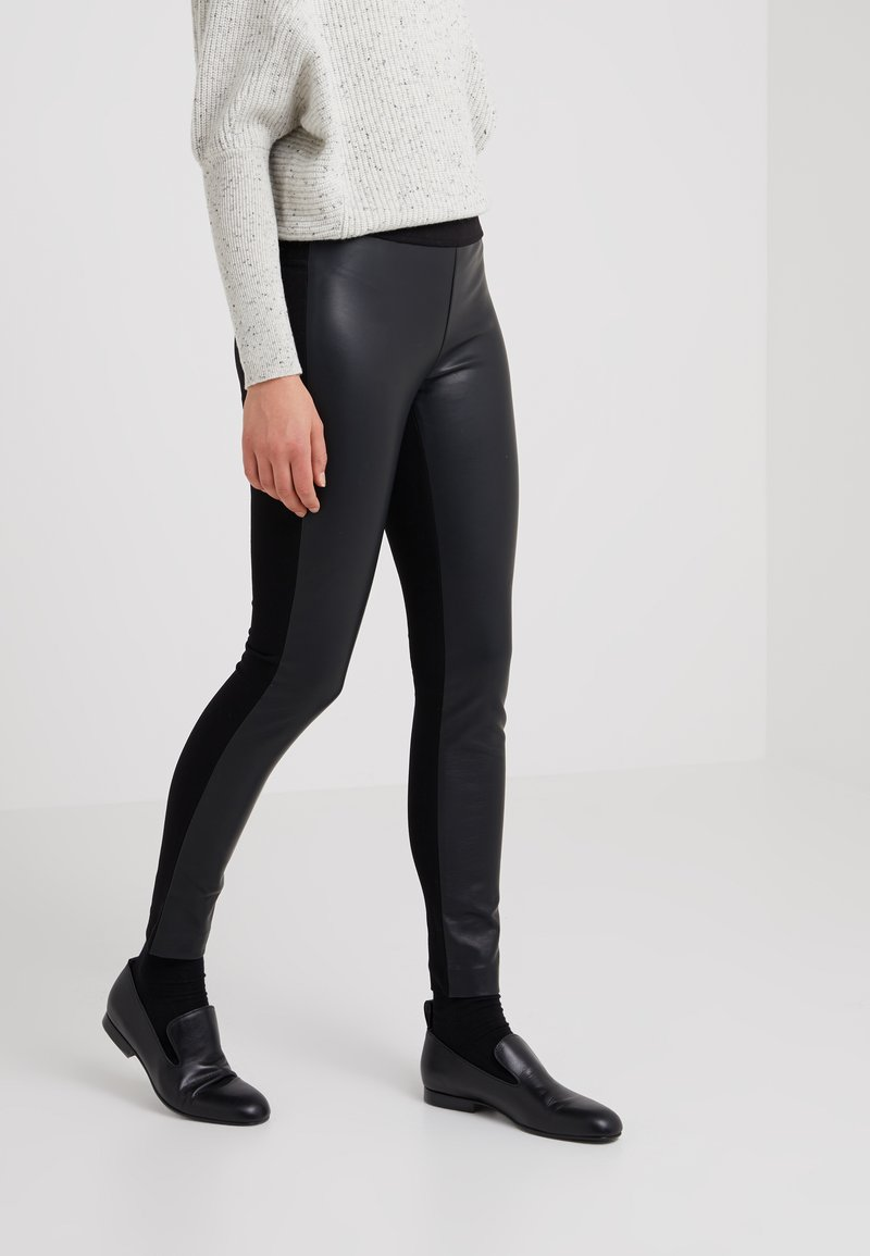 Club Monaco - TASHA - Leggings - Trousers - black