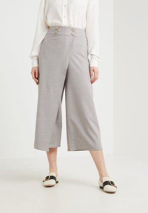 YOLANDE PANT - Pantalon classique - heather grey