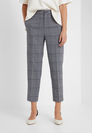 BORREM PANT - Pantaloni - grey windowpane